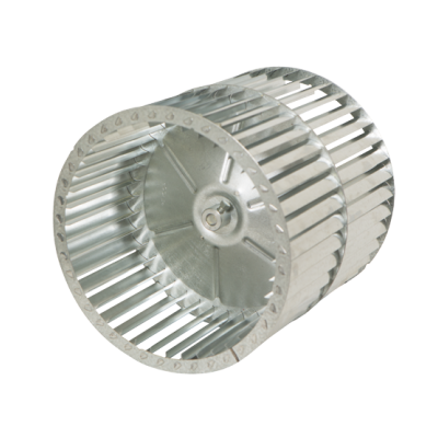 CR Series Centrifugal Blower Wheel, angled view