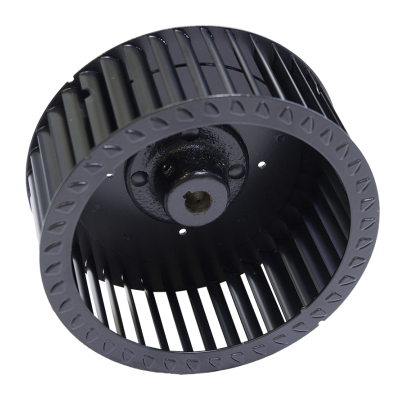 R Series Centrifugal Blower Wheel, angled view