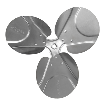 3-blade S Series Axial Fan Impeller