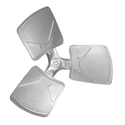 3-blade TNT Series Axial Fan Impeller