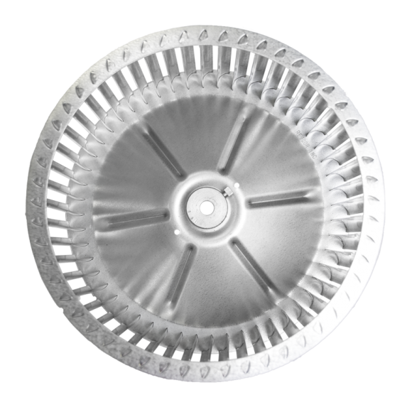 B Series Centrifugal Blower Wheel, end view