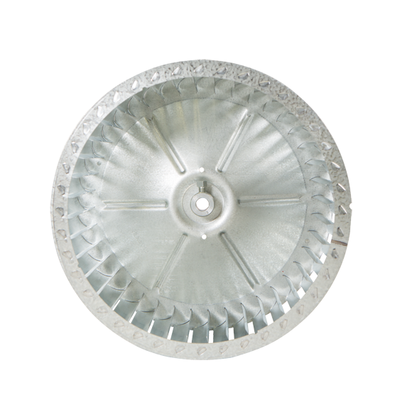 CR Series Centrifugal Blower Wheel, end view