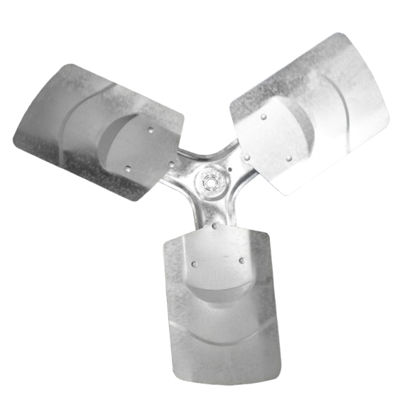 3-blade G Series Axial Fan Impeller
