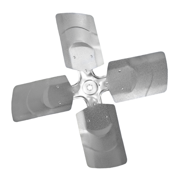 4-blade G Series Axial Fan Impeller