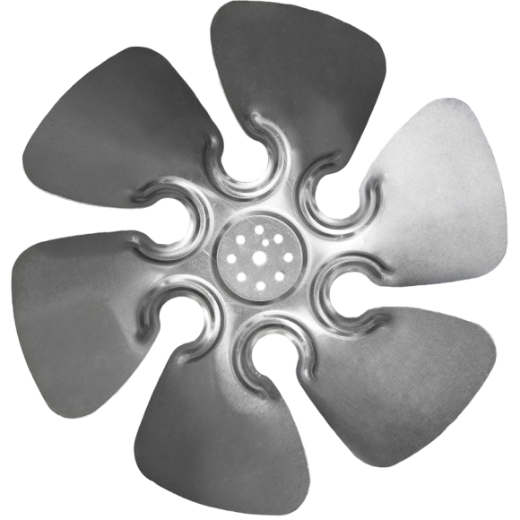 6-wing O-Series Axial Fan Impeller