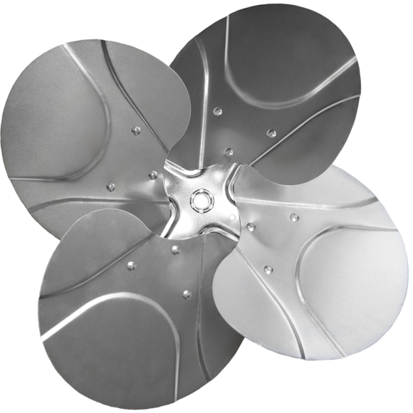 4-blade S Series Axial Fan Impeller