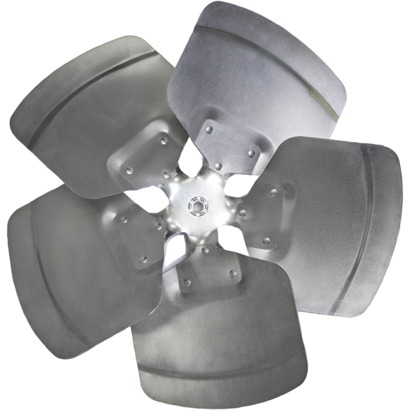 5-blade T Series Axial Fan Impeller