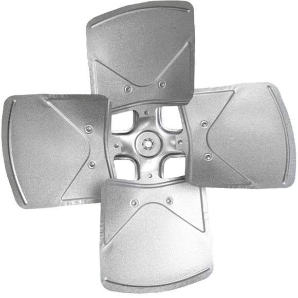 4-blade TNT Series Axial Fan Impeller