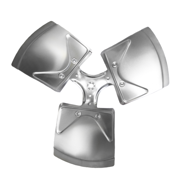 3-blade XW Series Axial Fan Impeller
