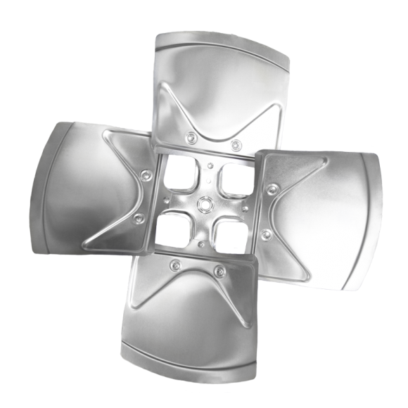 4-blade XW Series Axial Fan Impeller