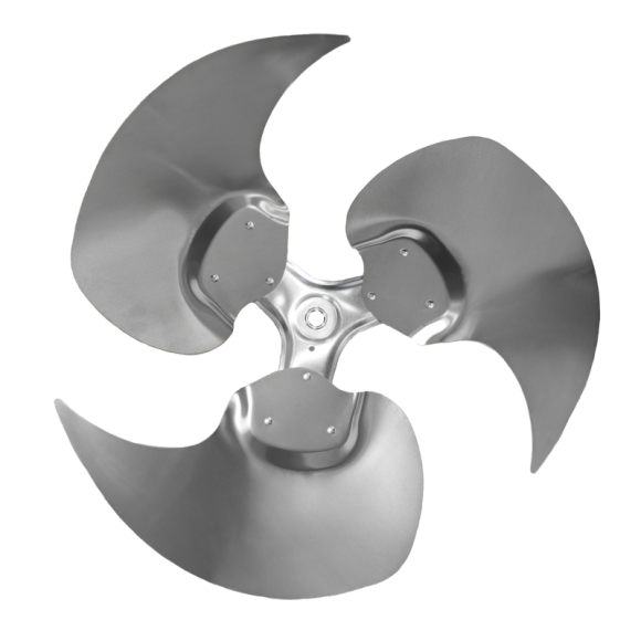 3-blade ZS Series Axial Fan Impeller