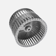 C Series Centrifugal Blower Wheel, angled view